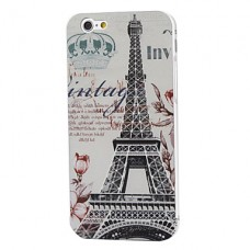 iPhone 6G siliconen parijs print