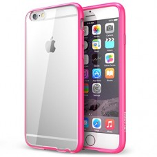 iPhone 6G siliconen cover roze contour