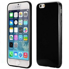 iPhone 6G siliconen cover zwart