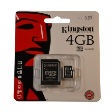 Kingston Geheugenkaart 4GB