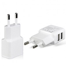 USB adapter 2 USB-poorten, 2A