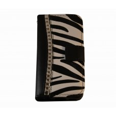 iPhone 5C boekhoesje diamond zebra