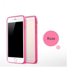 iPhone 6 Plus siliconen cover roze contour
