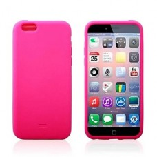 iPhone 6 Plus siliconen cover roze