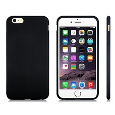 iPhone 6 Plus siliconen cover zwart
