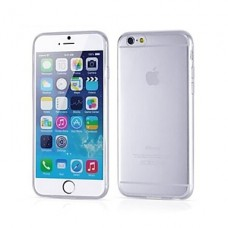 iPhone 6 Plus siliconen cover transparant