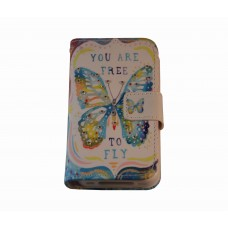 iPhone 4 / 4S boekhoesje butterfly