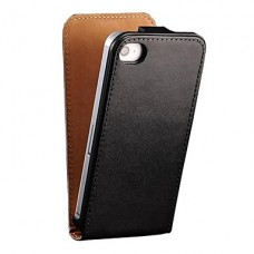 iPhone 4G/4S flipcase zwart