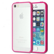 iPhone 5G/5S roze cover ultra dun