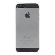 iPhone 5G/S siliconen cover transparant