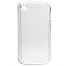 iPhone 4G/S siliconen cover transparant