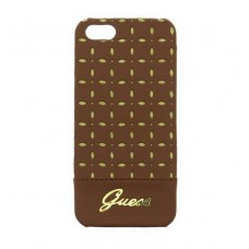 iPhone 5G/5S Guess Gia Cover Bruin