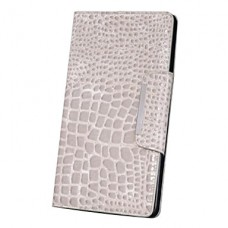 iPad mini boekhoesje croco beige