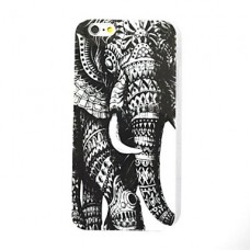 iPhone 6G siliconen olifant print