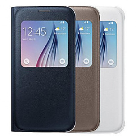 Galaxy S6 S View Cover zwart